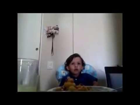Un Niño explica porqué no quiere comercarne