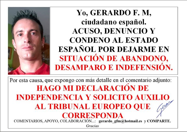 Gerardo se independiza